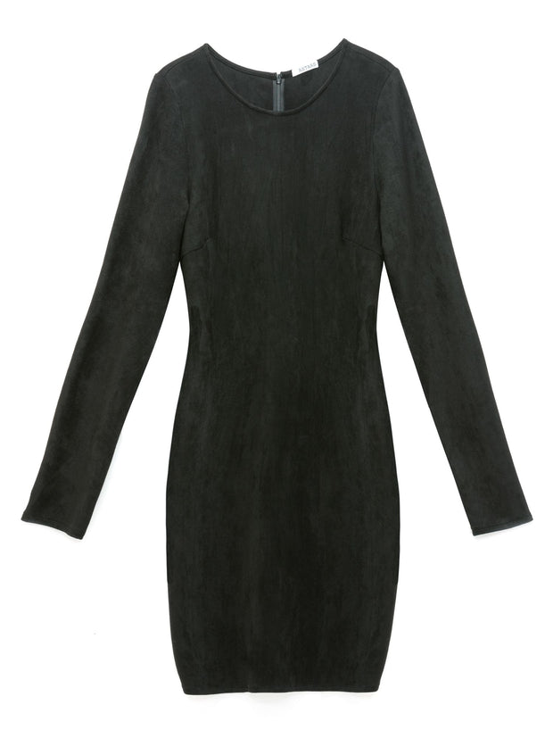 After Hours Vegan Suede Dress