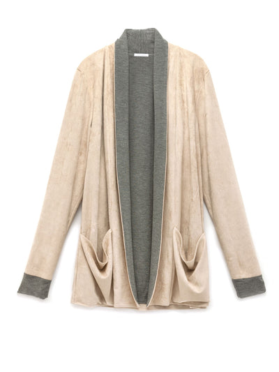 The Cloud Vegan Suede Cardigan