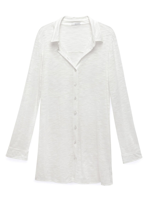 The Essential Button Down Tunic