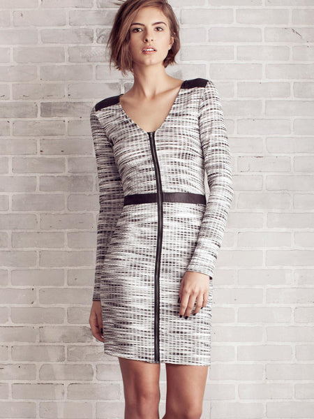 MANHATTAN ZIP DRESS