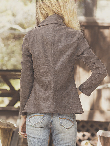 Vintage Edition Vegan Leather Jacket