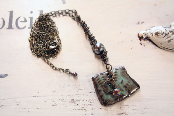Fall Forest Necklace