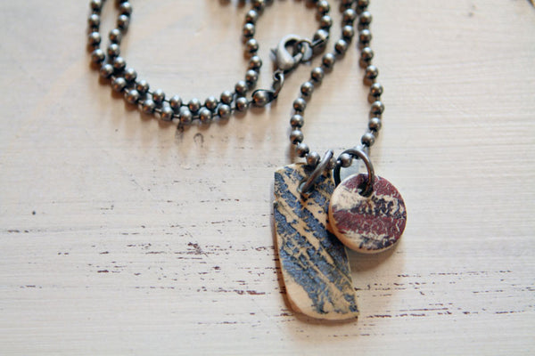 Double Grunge Necklace