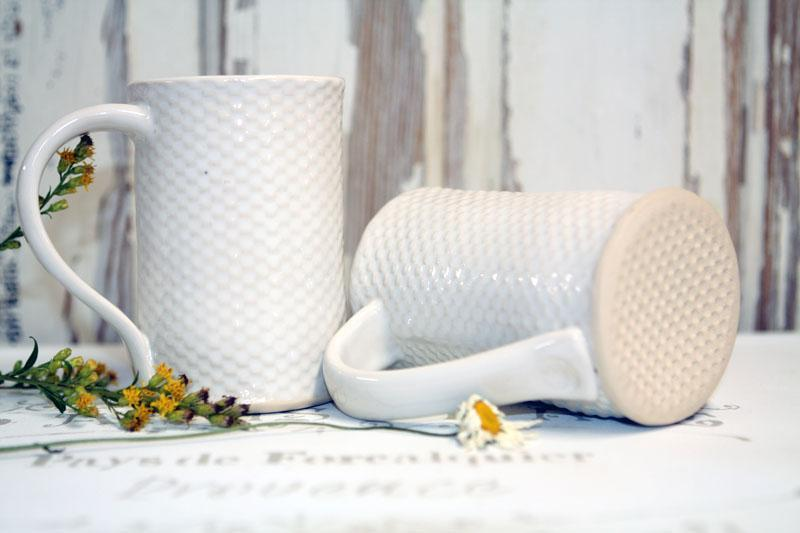 Quilted Farmhouse Mugs