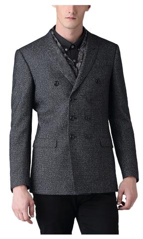 K-Series Gray Pixel Jacket