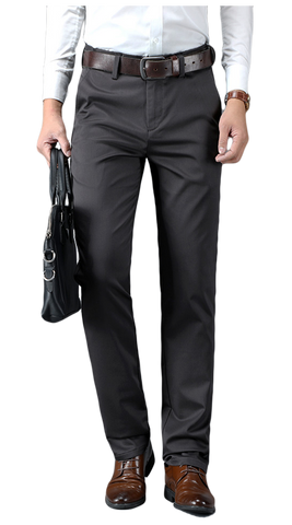 Gray Chino Pants