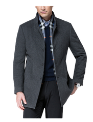 Edinburgh Cashmere Wool Coat