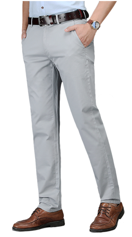Light Gray Chino Pants