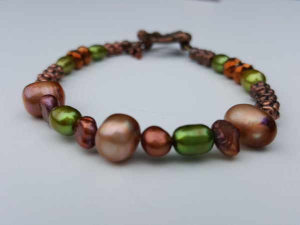 Warm Fresh Water Pearl Bracelet
