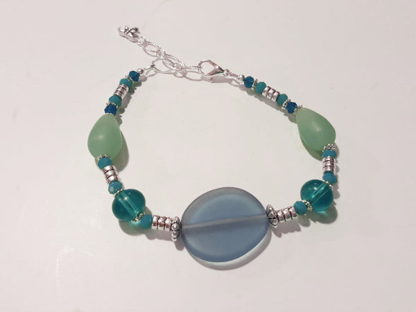 Blue Seaside Bracelet 2
