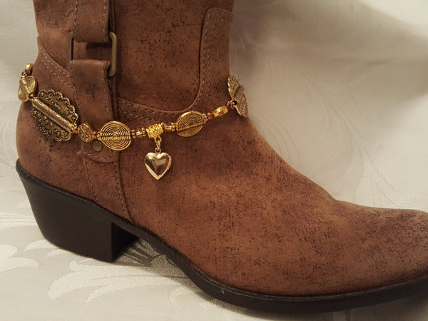 Golden Glow Boot Bling