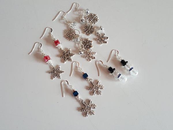 Let It Snow Swarovski Earrings