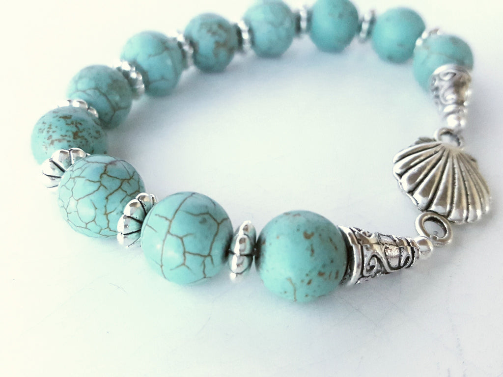 Stretchy Shell bracelet