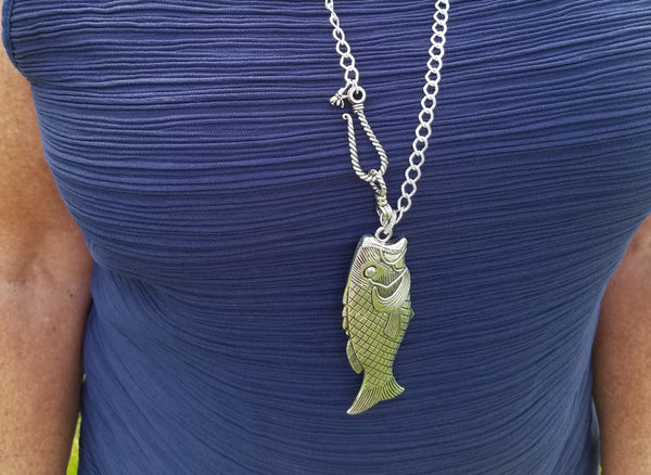 Fish Hooked Necklace
