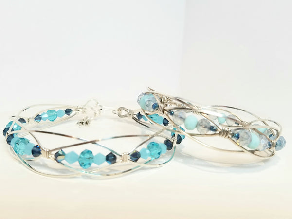 Custom Sterling Silver Lace Bracelet