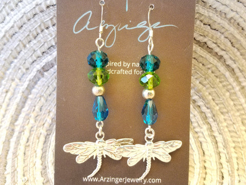 Summer Dragonfly Earrings