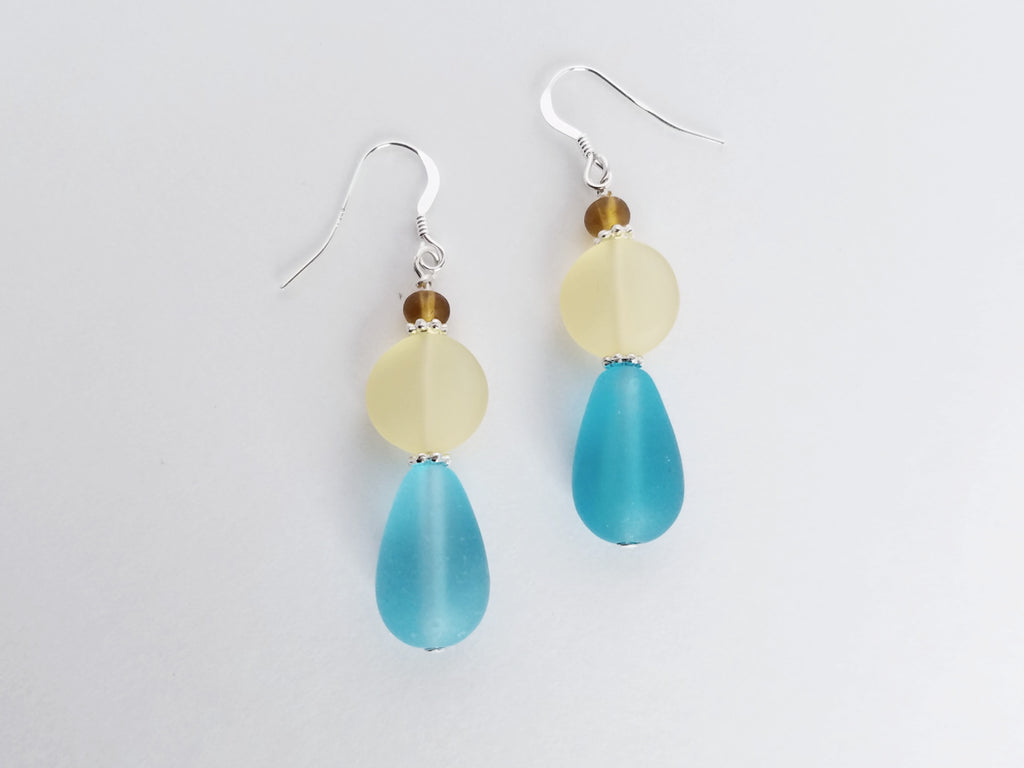 Sand and Sea Earrings