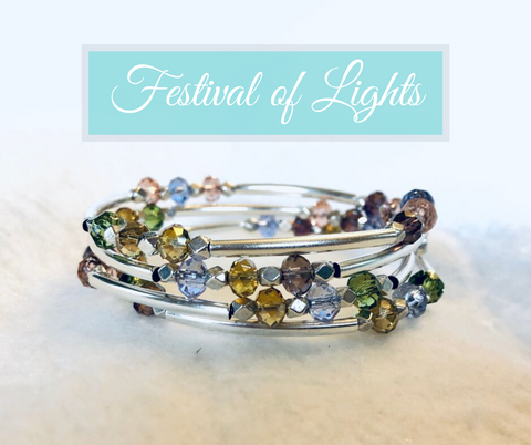 Festival of Lights Wrap Bracelet