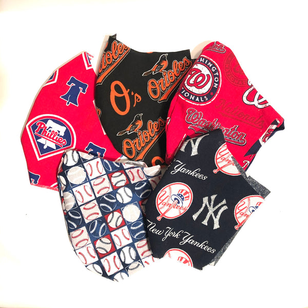MLB Washington Nationals Face Mask, Baseball Face Mask, 100% cotton, 3 layer with filter pocket and nose wire, 2 layer mask