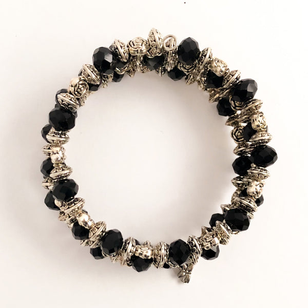Night on the Town Wrap Bracelet