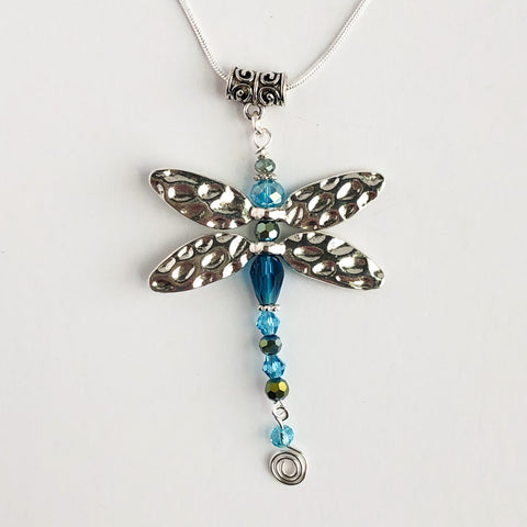 Dazzling Dragonfly Necklace