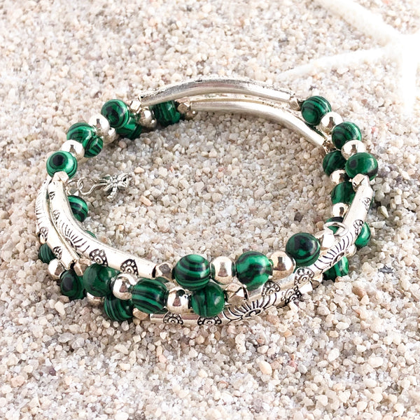 Emerald Isle Wrap Barcelet