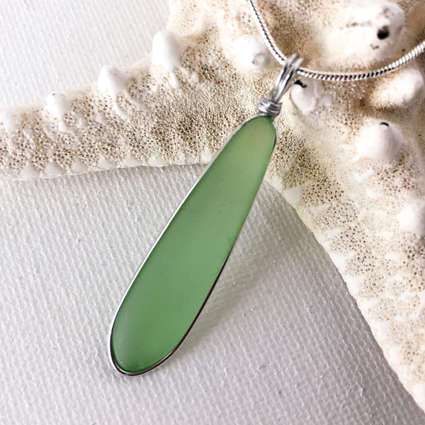 Petals of Hope Sea Glass Necklace