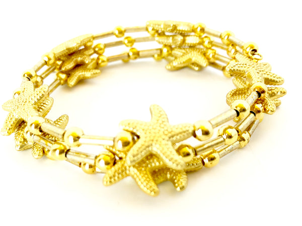Shining Stars Wrap Adjustable Bracelet