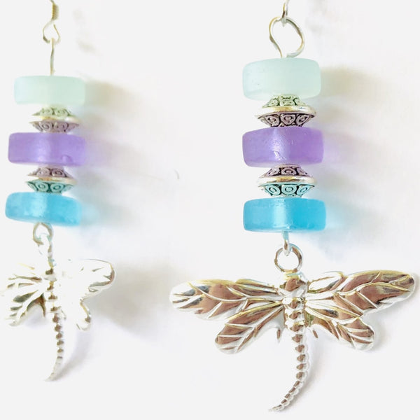 Mediterranean Dreams Dragonfly Earrings
