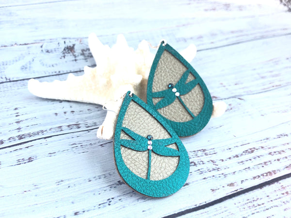 Daybreak Dragonfly Earrings