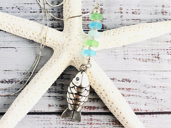 Island Breeze Fish Necklace