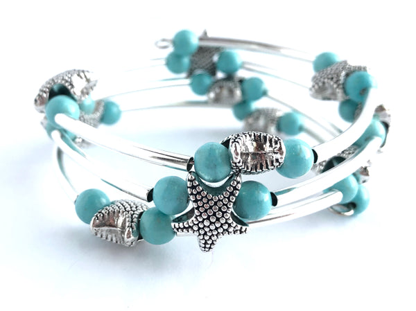 Star of the Ocean Wrap Bracelet