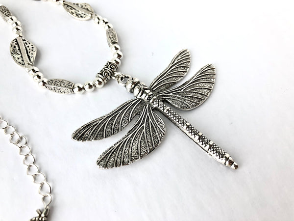 Seaside Dragonfly Necklace