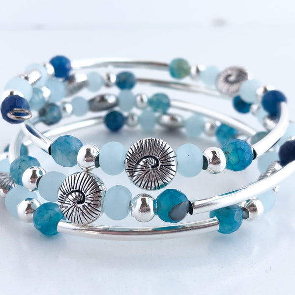 Surf's Up Wrap Bracelet