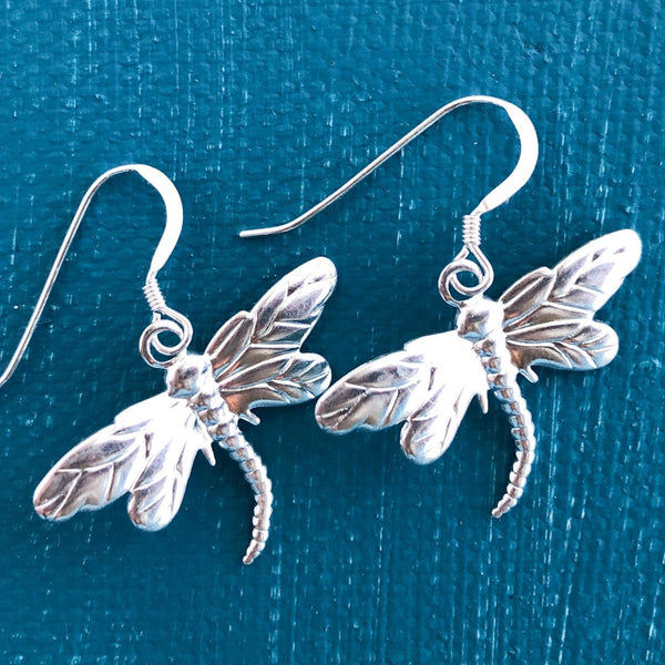Seaside Dragonfly Earrings
