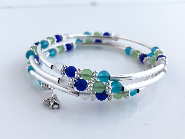 Beach Girl Adjustable Wrap Bracelet
