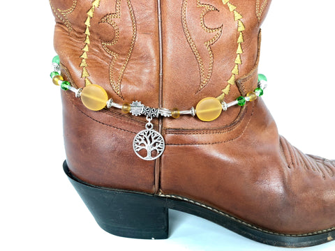 Tree of Life Boot Bling