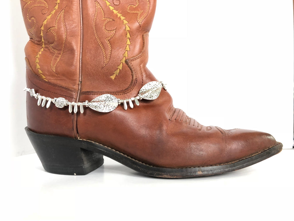 Southwest Silver Boot Bling