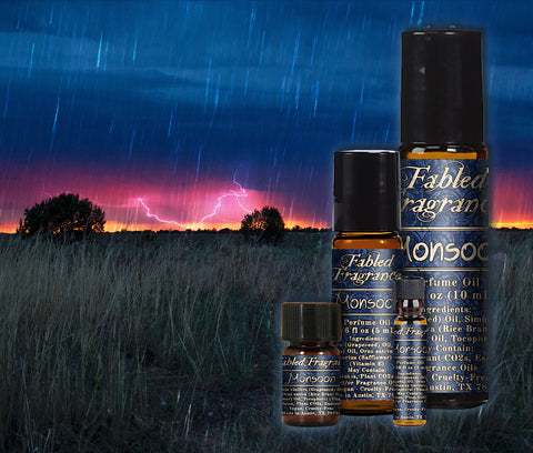 Monsoon Perfume - Fabled Fragrances