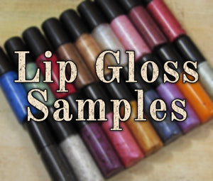 Lip Gloss Samples - Fabled Fragrances