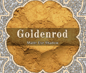 Goldenrod Eyeshadow
