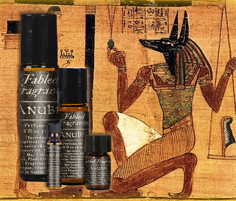 Anubis Perfume - Fabled Fragrances