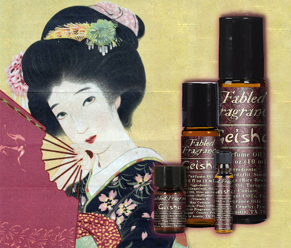 Geisha Perfume - Fabled Fragrances
