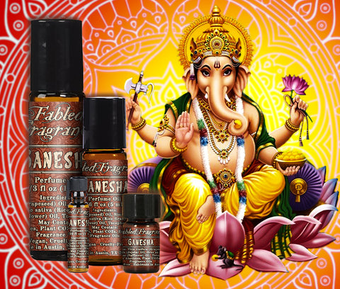 Ganesha Perfume - Fabled Fragrances
