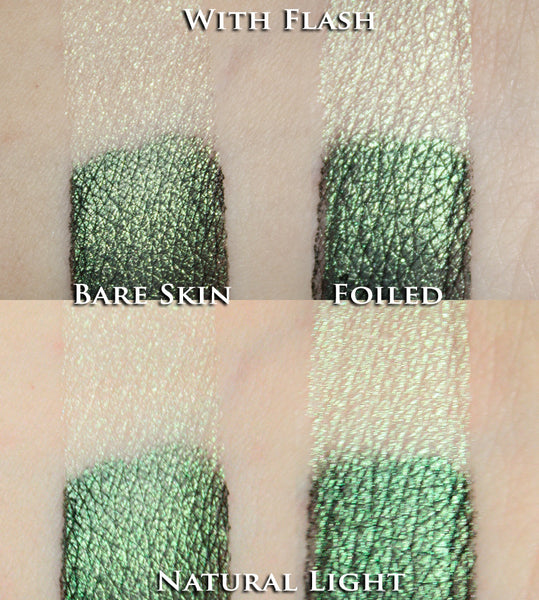 Green Stardust Eyeshadow - Fabled Fragrances