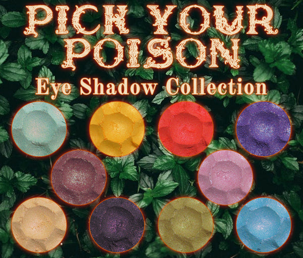 Pick Your Poison Eyeshadow Collection - Fabled Fragrances