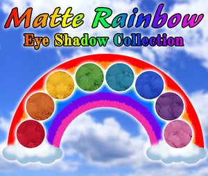 Matte Rainbow Eyeshadow Collection - Fabled Fragrances