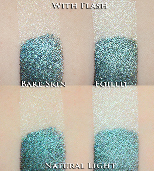 Turquoise Stardust Eyeshadow - Fabled Fragrances