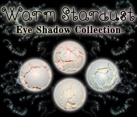 Warm Stardust Eyeshadow Collection - Fabled Fragrances