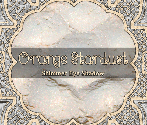 Orange Stardust Eyeshadow